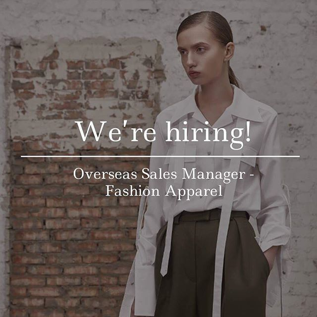 We would like to invite a vibrant, enthusiastic sales person into our established team to build new relationships within the fashion apparel market. Follow the link in our bio to read the full job description and submit an application on @drapersonline. #fashionjobs #fashionjob #fashioncareer #fashioncareers #drapersjobs #salesjobs #awhainsworth #fashion #Drapers