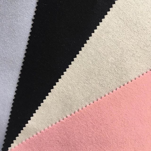 Introducing our new collection: Elegance.  Made from 100% #lambswool, the Elegance collection is beautifully light and soft with a super sheen that accentuates the fluid drape of any garment. Samples available to order now, simply follow the link in our bio. #britishtextiles #cloth #clothmerchant #textilemill #designerfabric #luxuryfabrics