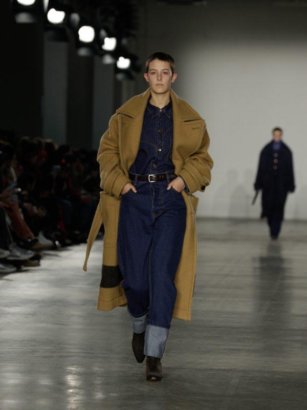 Alex Mullins Camel Duffle Coat