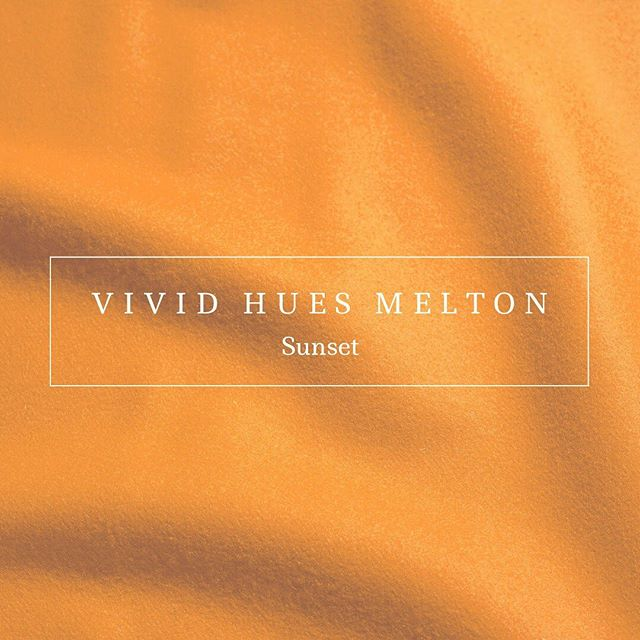Sunset is the next trend colour to join our Vivid Hues Melton collection this season. Click the link in our bio then select 'Vivid Hues Melton' to view the complete range of colours and order samples. #colourtrends #aw2021 #autumntrends #wintertrends #fashiondesign #fashiondesigner #fashiontrends #textiles #meltoncloth #wool #choosewool