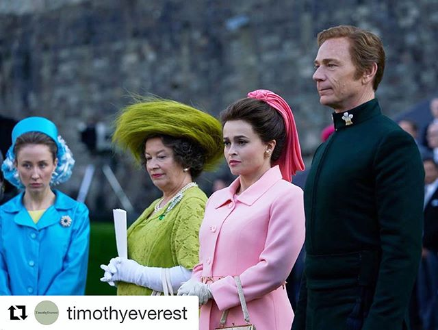 A remarkable recreation of the distinctive outfit worn by Lord Snowden at Prince Charles's investiture ceremony, by @timothyeverest for @thecrownnetflix. Made from #Hainsworth #Doeskin in Forest Green. #tailoring #costume #costumedesigner #Repost ・・・ The meticulous attention to detail that goes into putting together a show like @thecrownnetflix is staggering. Here we see the unique military formal outfit that Lord Snowdon designed for the Prince Of Wales's investiture ceremony, faithfully recreated by our bespoke department using a forest green doeskin from @awhainsworth .  Although glimpsed only briefly in the background of the episode, the outfit was as meticulously made as any garment that leaves our workshop, whatever its ultimate purpose.  #timothyeverest #finetailoring #thecrown #netflix