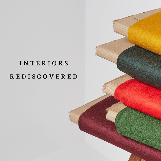Our new #Interiors range draws upon Hainsworth's unrivalled heritage, utilising skills and craftsmanship learnt over 237 years, combined with modern design techniques and trends. The result? A carefully curated mix of woollen and worsted fabric collections for striking Interiors.  Hainsworth #InteriorsRediscovered, coming soon… #interiorfabrics #interiordesign #fabricinspiration #textilefabrics #upholsteryfabric #upholsteryfabrics #furnishingfabrics #hainsworth #fabricofanation