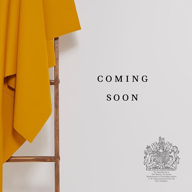 Hainsworth #InteriorsRediscovered, coming soon… As holders of the #RoyalWarrant for supplying Furnishing Fabrics to Her Majesty The Queen, we're extremely proud of our long-established credentials in the Interiors world. We've drawn upon this unrivalled heritage to develop our upcoming range, and we can't wait to share it with you. #interiorfabrics #interiordesign #fabricinspiration #textilefabrics #upholsteryfabric #upholsteryfabrics #furnishingfabrics #hainsworth #fabricofanation