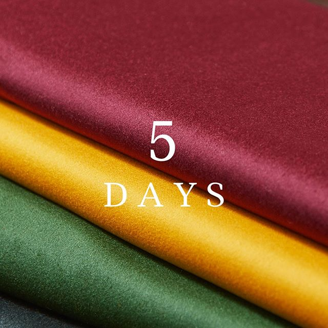 There's just 5 days to go until we officially launch our new Interiors range. We've been working closely with key customers to make sure this happened at the right time, after sadly having to delay the original launch in March. We can't wait to show you our #InteriorsRediscovered collection… #Hainsworth #fabricofanation #interiorfabrics #furnishingfabrics #textilefabrics #upholsteryfabric #upholsteryfabrics