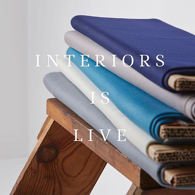 Our new #Interiors range is live! From iconic Doeskin to classic Meltons and contemporary Twills, the new range is made up of 7 stock supported collections, comprising must have woollen staples to modern textures and everything in between. After postponing the original launch in March, we've been working alongside key customers to make sure that the re-scheduled launch happened at the right time, when customers felt they would be back to work and ready to see something new. So here it is! Follow the link in our bio to view the new collections and order samples. #InteriorsRediscovered #Hainsworth #fabricofanation #furnishingfabrics #textilefabrics #upholsteryfabric #upholsteryfabrics