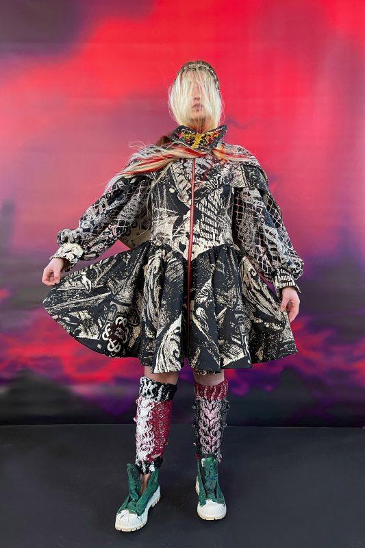 Matty Bovan garment