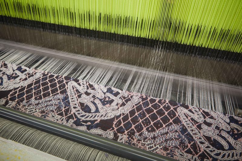 Bespoke fabrics on the loom